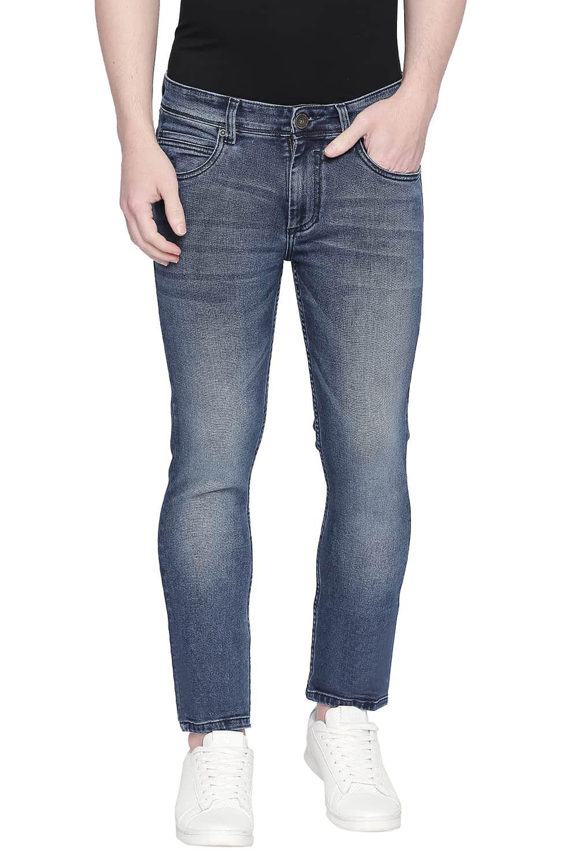 Basics | Basics Torque Fit Ensign Blue Stretch Jeans