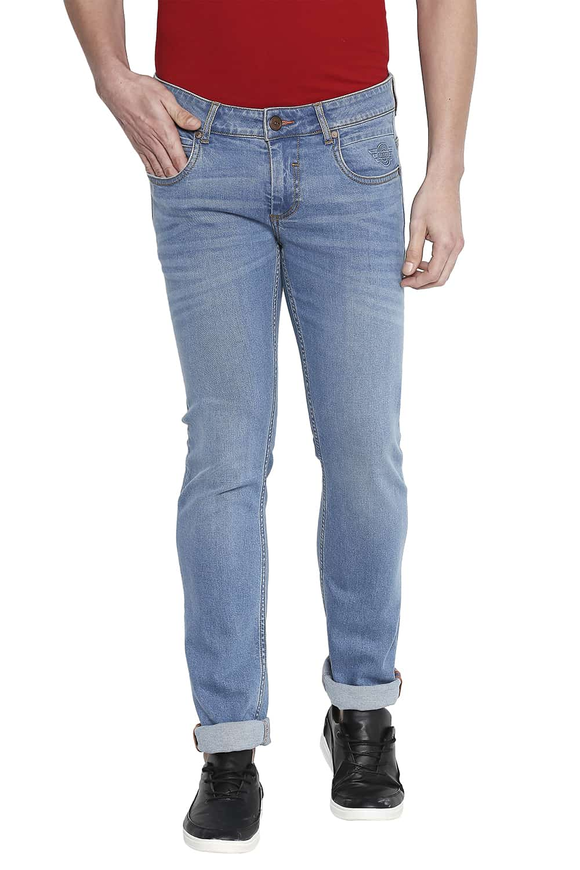 Basics | Basics Torque Fit Blue Shadow Stretch Jeans