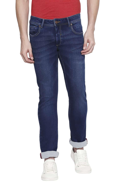 Basics | Basics Torque Fit Navy Peony Stretch Jeans