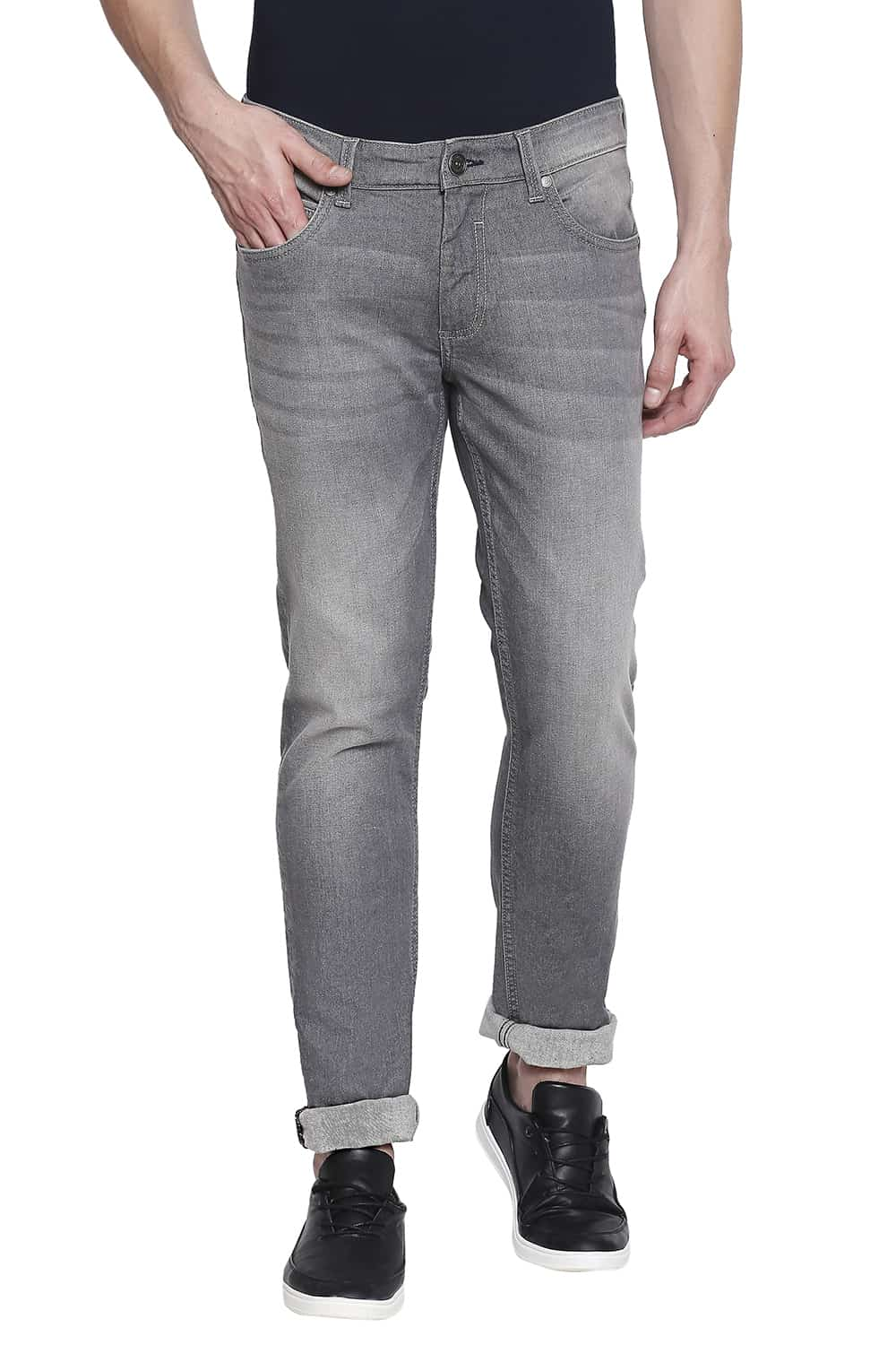 Basics | Basics Blade Fit Smoked Pearl Stretch Jeans