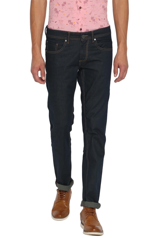 Basics | Basics Torque Fit Dark Slate Stretch Jeans-20BJN46153