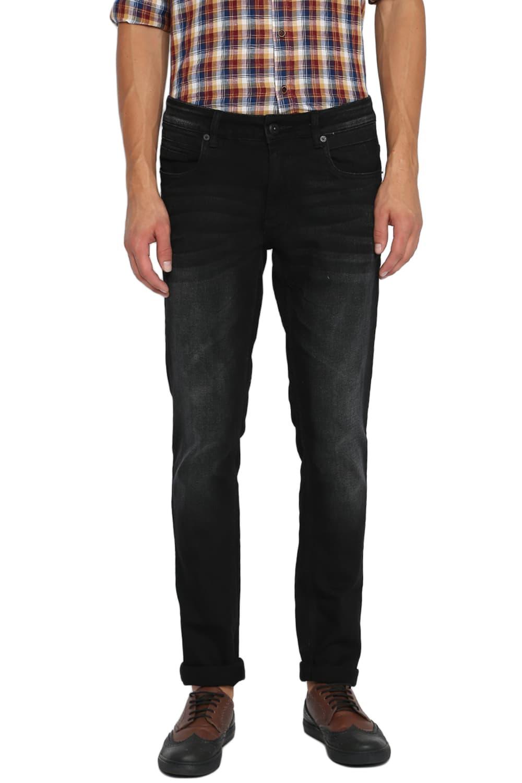 Basics | Basics Blade Fit Jet Black Stretch Jeans-20BJN46154