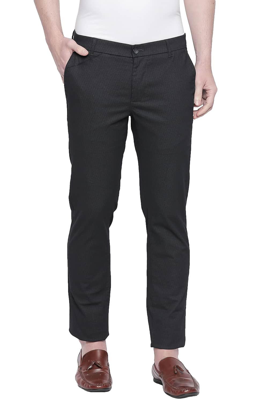 Basics | Basics Tapered Fit Dark Shadow Stretch Trouser