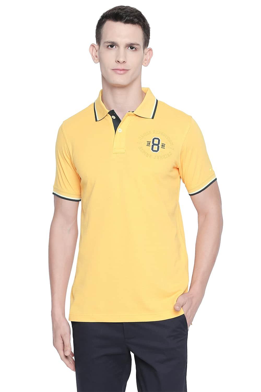 Basics | Basics Muscle Fit Banana Cream Polo T Shirt
