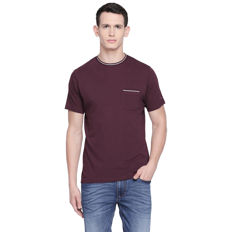 Basics   Basics Muscle Fit Winetasting Crew Neck T Shirt-21BTS48035