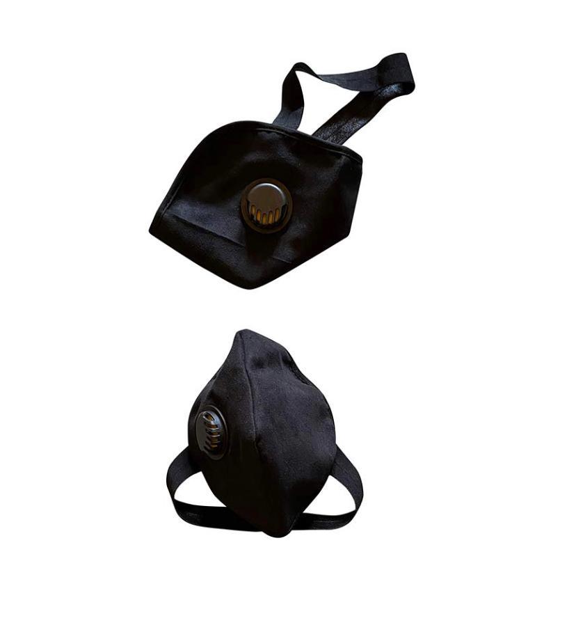 SOC PERFORMANCE |  Alcantara Protective Reusable Masks ( Pack of 2)