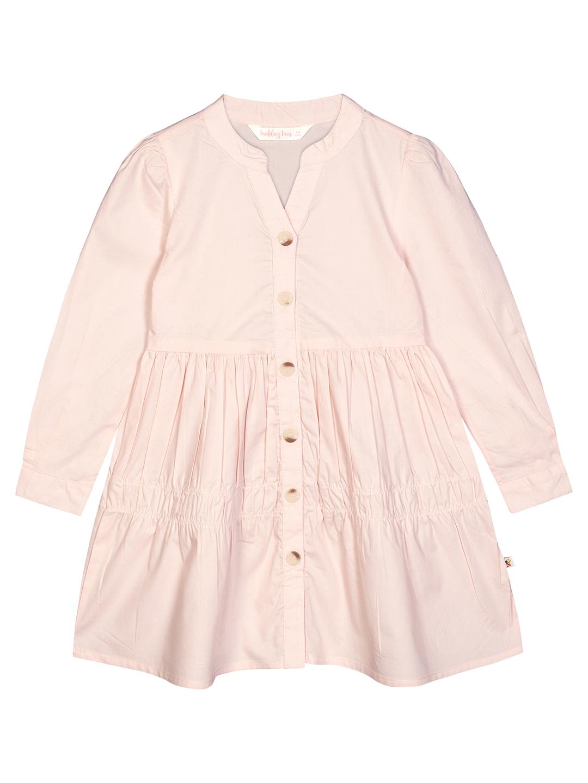 Budding Bees | Budding Bees Girls Pink Solid Shirt Dress