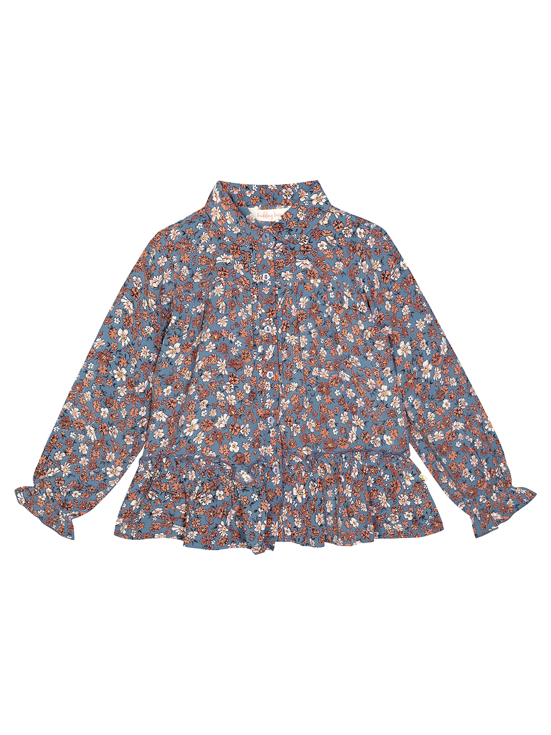 Budding Bees | Budding Bees Girls Multi Printed Georgette Top