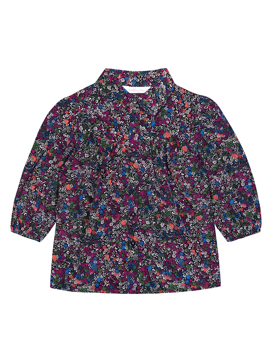 Budding Bees | Budding Bees Girls Multi Floral Top