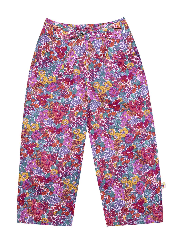 Budding Bees | Budding Bees Girls Pink Lenin Trouser
