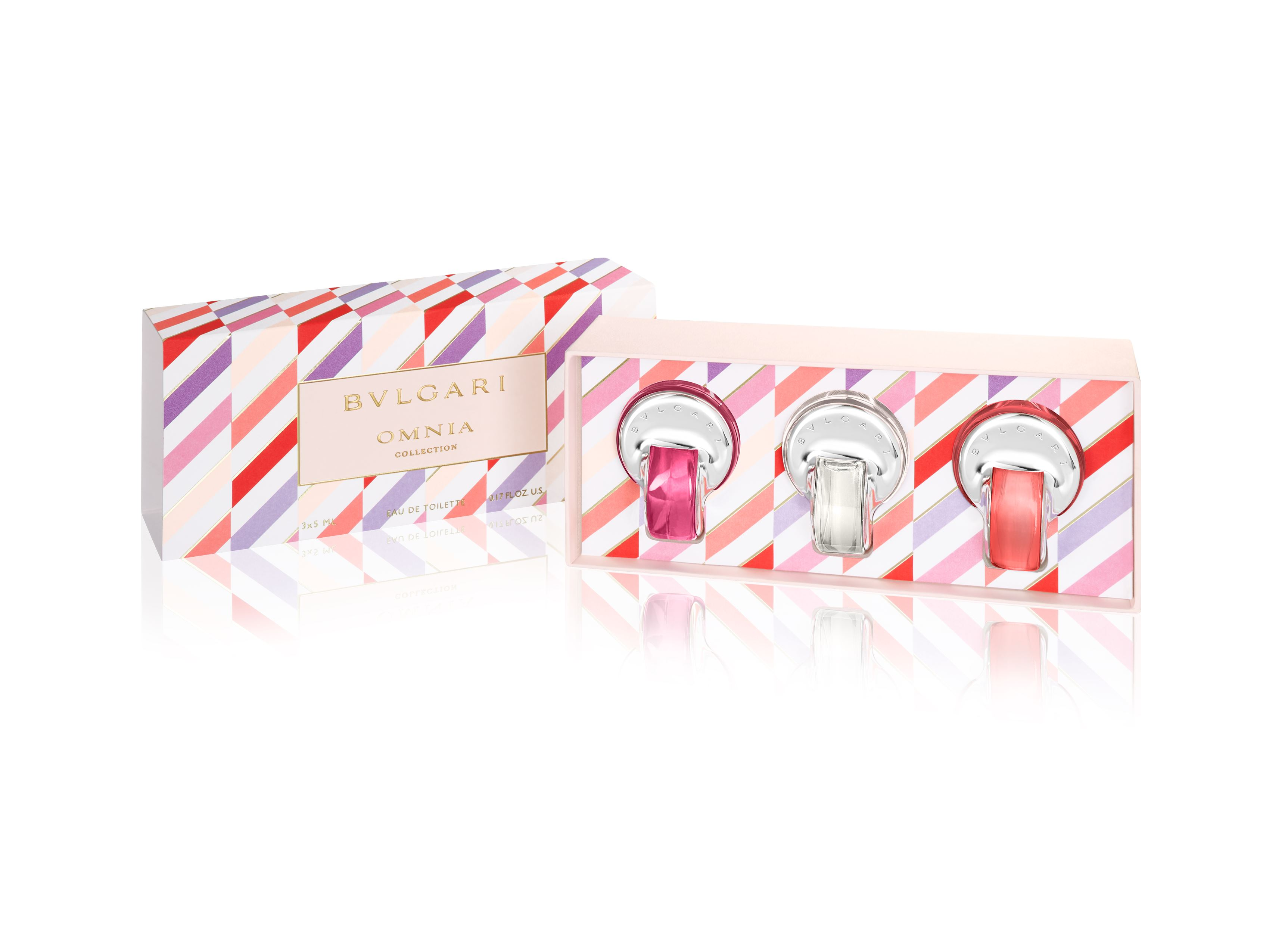 Bvlgari | Omnia Collection Eau de Toilette Kit (Omnia Crystalline and Omnia Pink Sapphire and Omnia Coral)5 MLx3