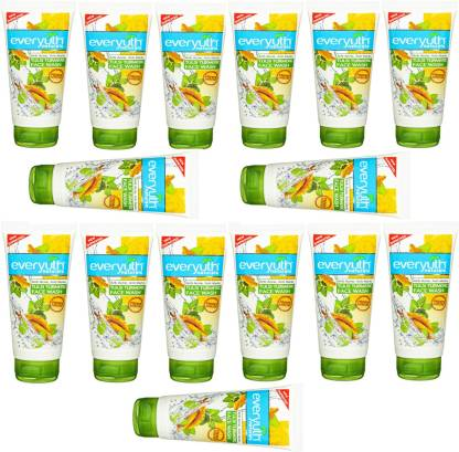 Everyuth Naturals | Everyuth Naturals 15 ANTI ACNE , ANTI MARKS TULSI TURMERIC FACE WASH Face Wash (150 G*15)