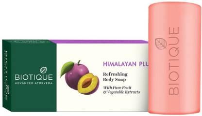 Biotique Advanced Ayurveda | BIOTIQUE Bio Himalayan Plum Refreshing Body Soap (150g*4)