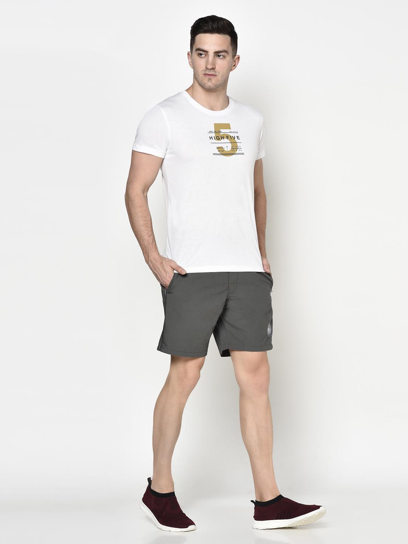 OCTAVE | Men GUN METAL Shorts