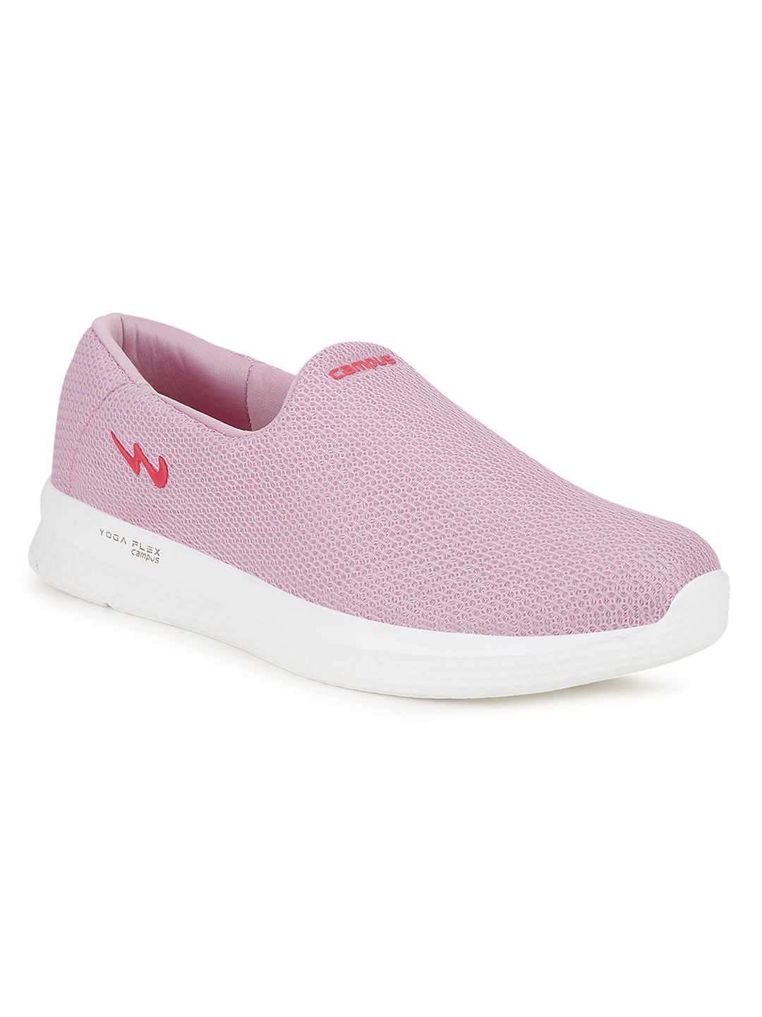 Campus Shoes | Pink Zoe Plus Running Shoes