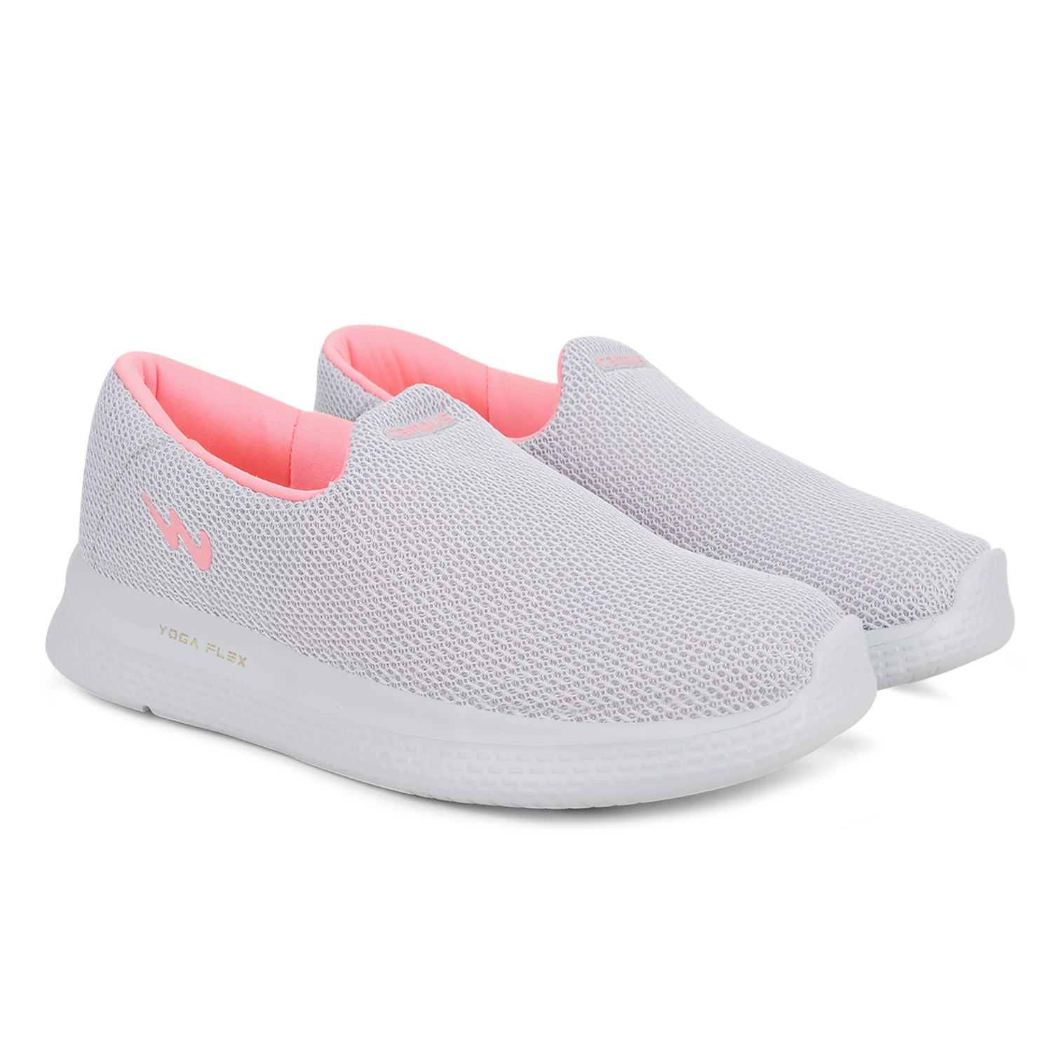 Campus Shoes | Grey Zoe Plus Running Shoes