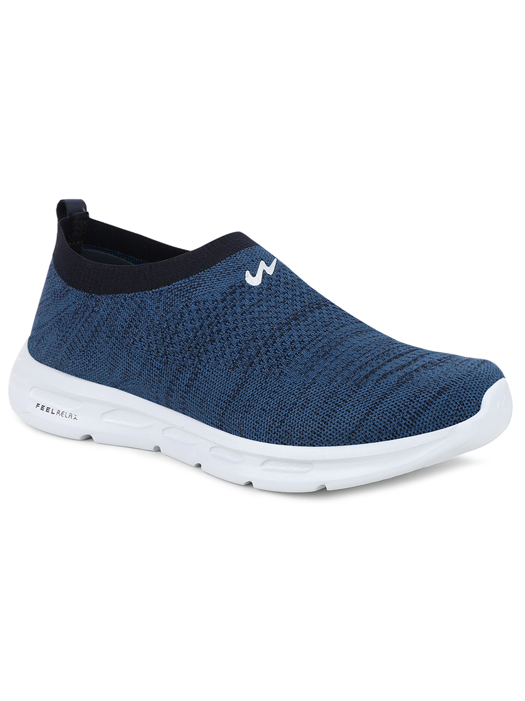 Campus Shoes | Blue King Plus Casual Slip-ons