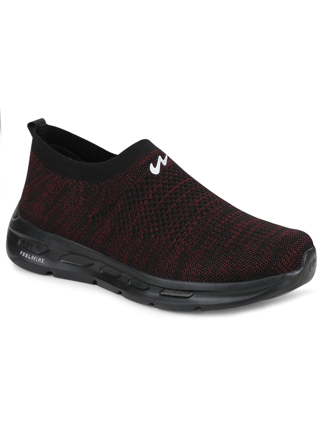 Campus Shoes   Red King Plus Casual Slip-ons
