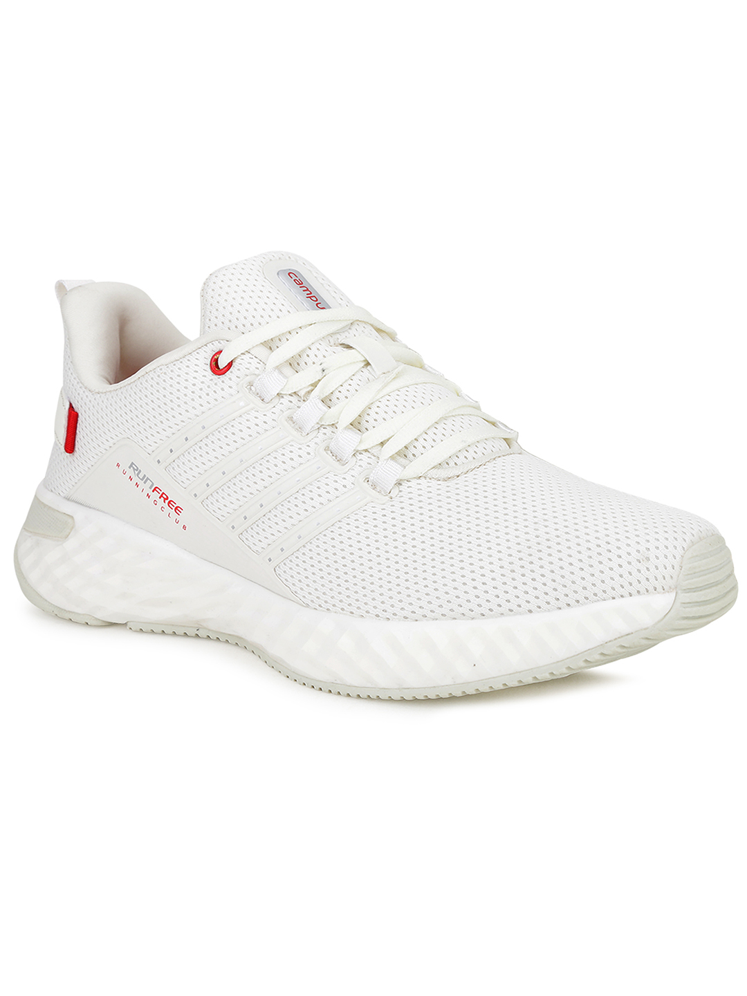 Campus Shoes | White Oslo Pro Running Shoes
