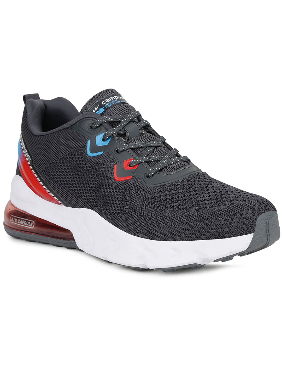 Campus Shoes | Grey Gloster Running Shoes