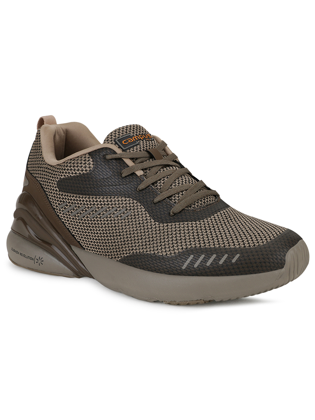 Campus Shoes | Brown Forte Pro Running Shoes