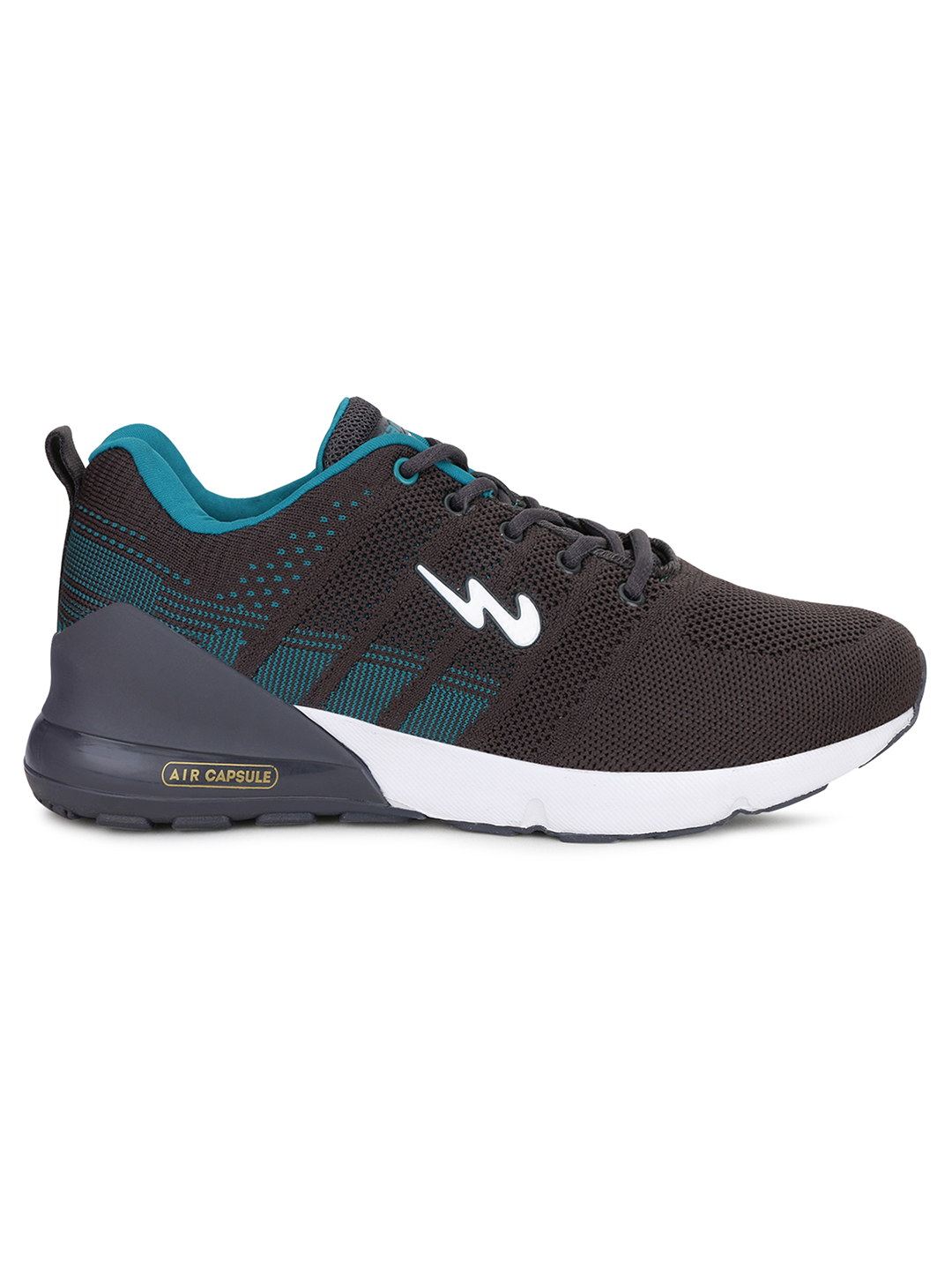 Campus Shoes | Grey Syrus Running Shoes
