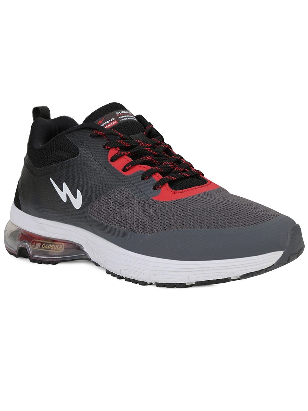 Campus Shoes | Grey Dynamo Pro Running Shoes