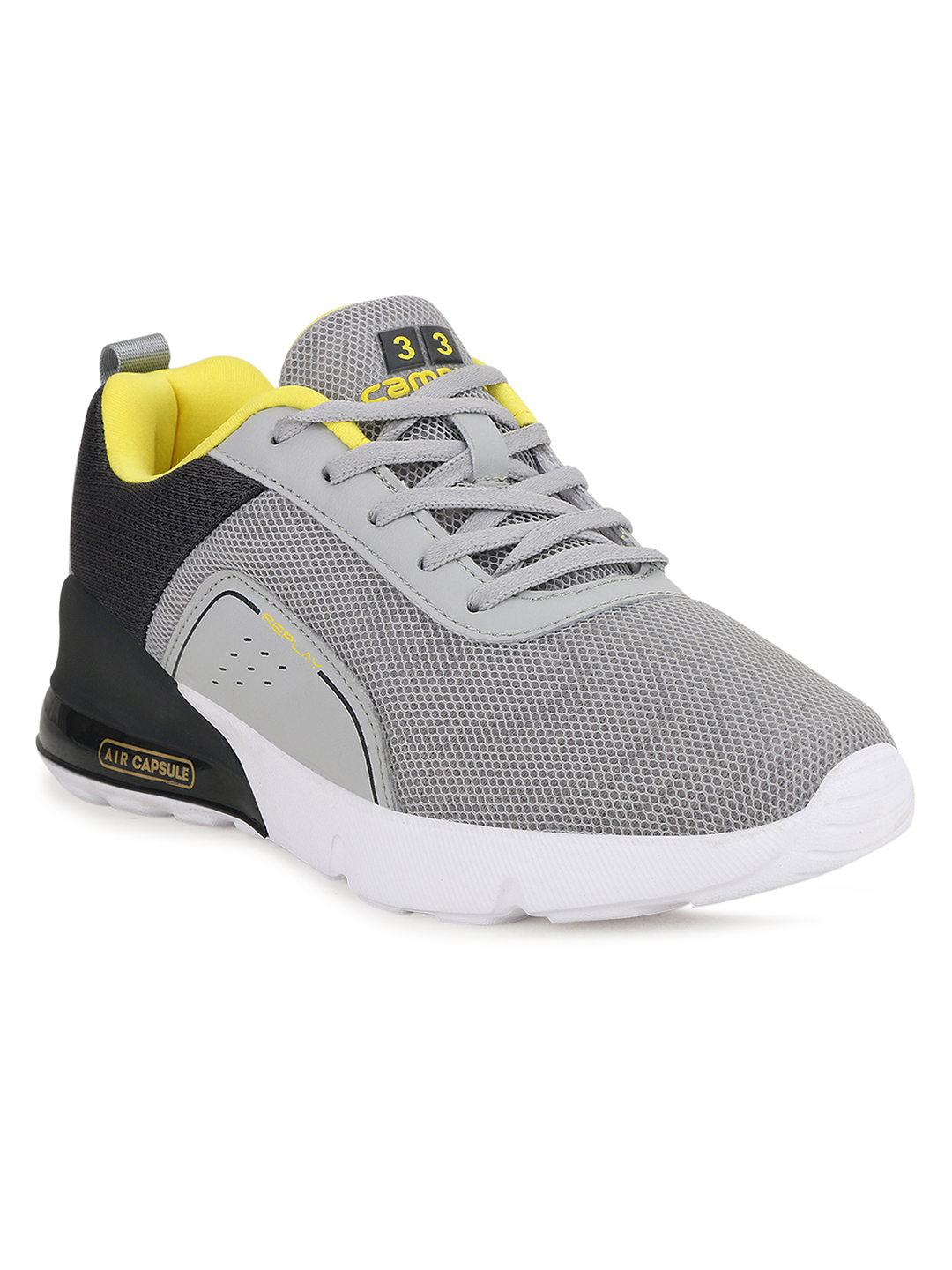 Campus Shoes | Grey Kidos-Child Running Shoes