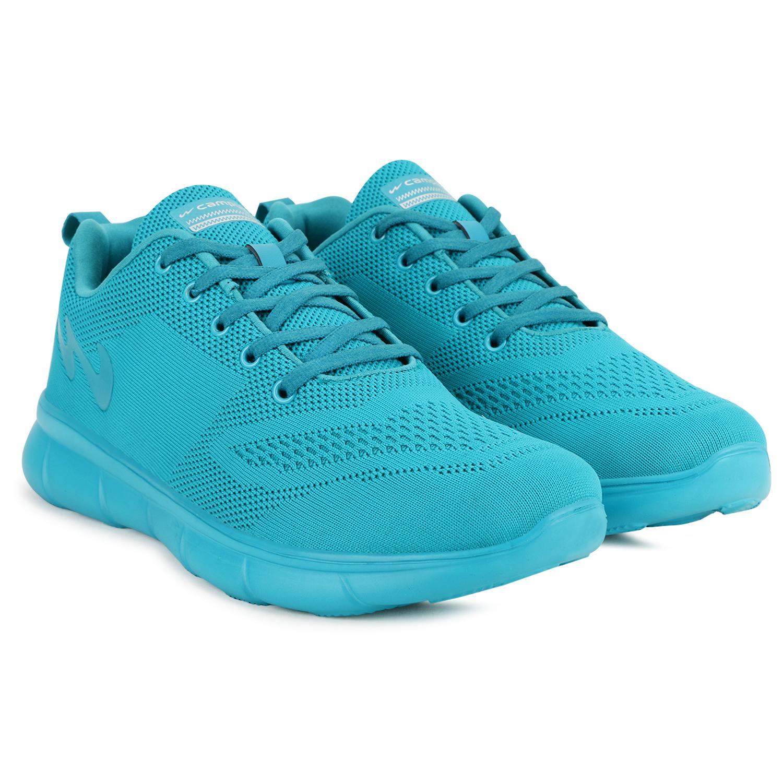 Campus Shoes | Green Vibgyor Running Shoes