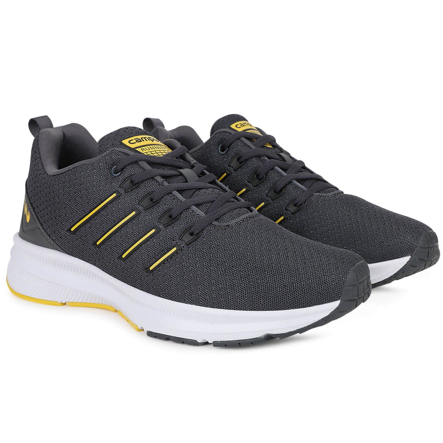 Campus Shoes   Grey Vacum Running Shoes