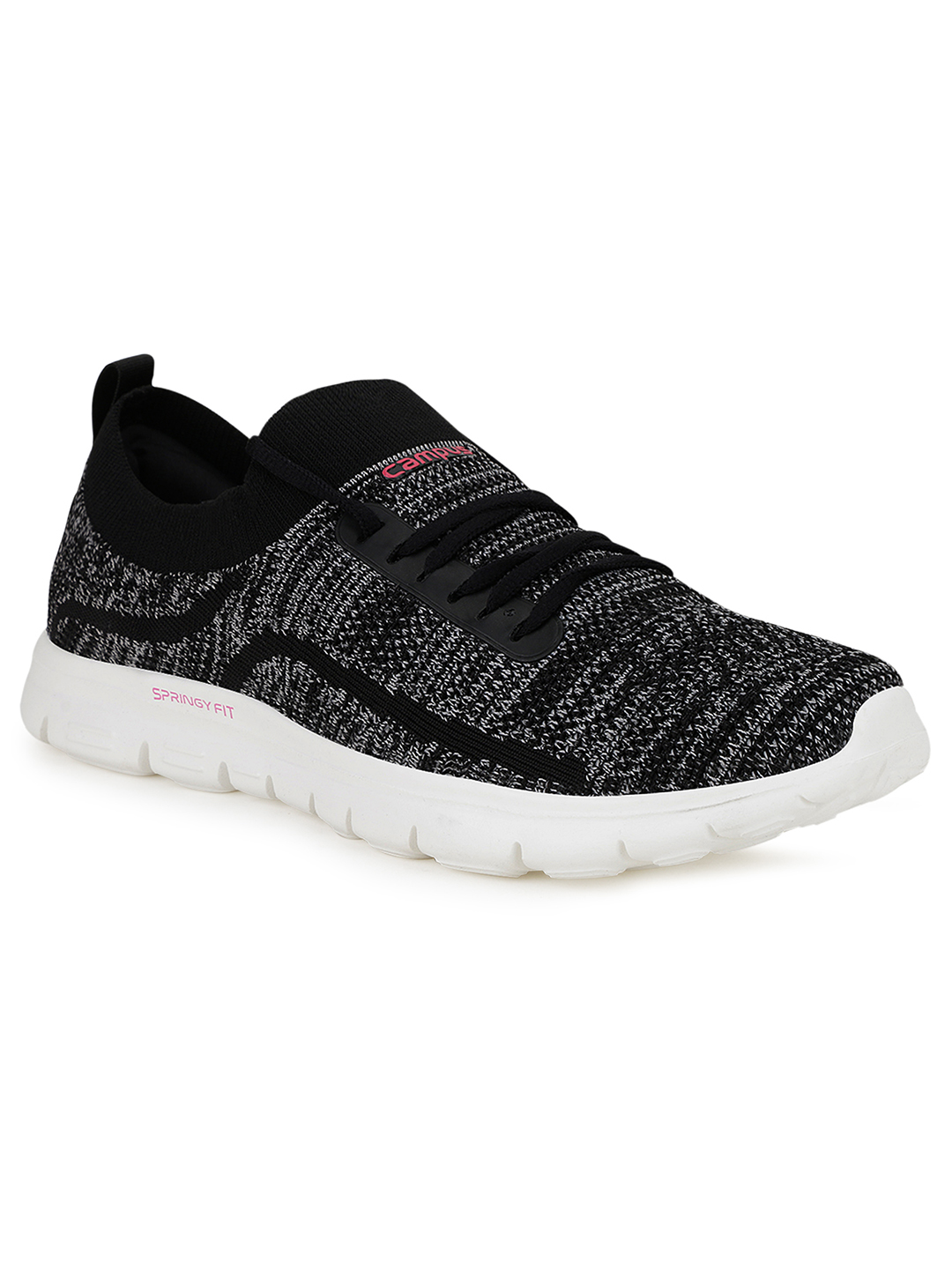 Campus Shoes | Black Eliza Running Shoes
