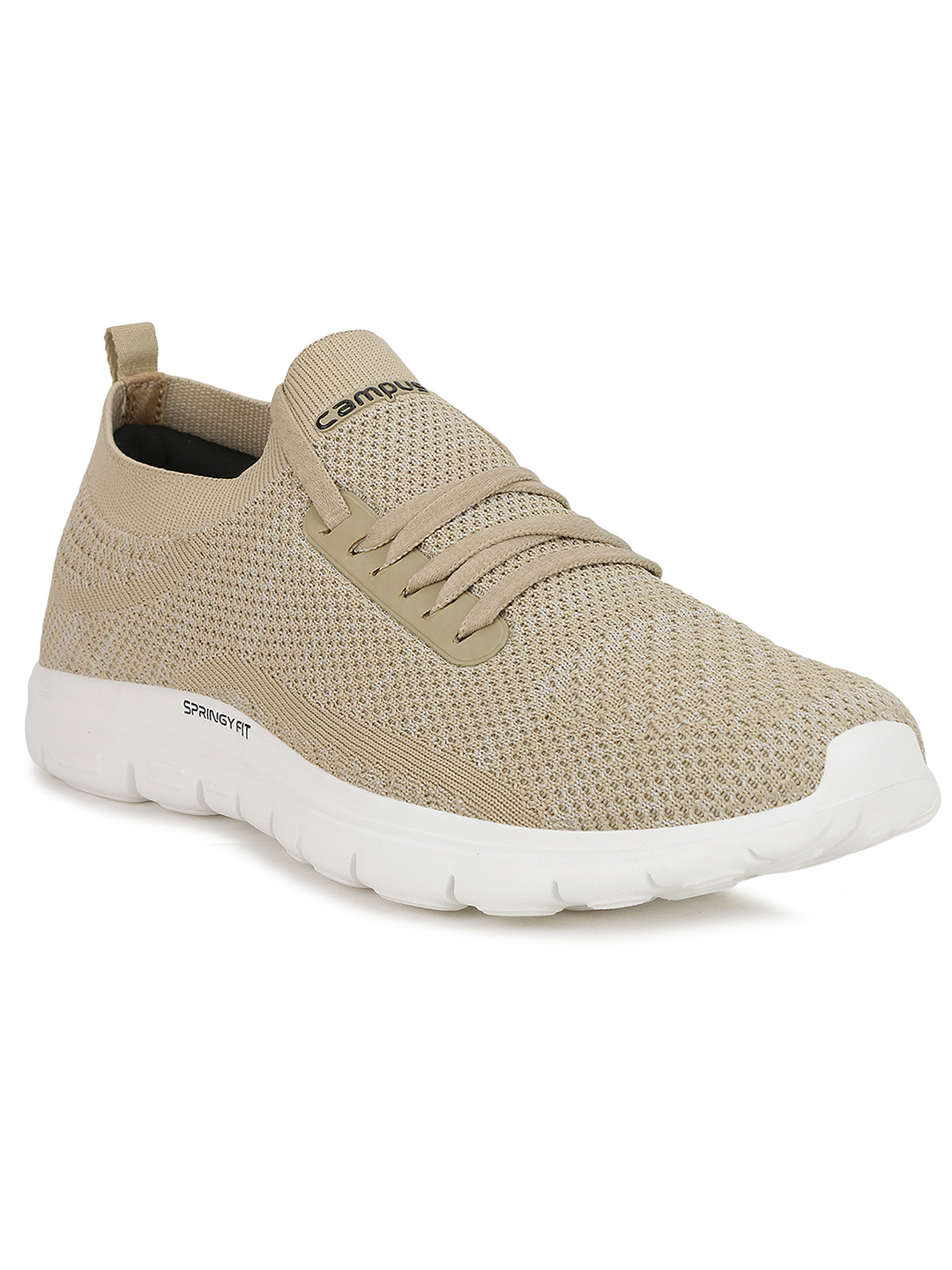 Campus Shoes | Beige Running Shoes