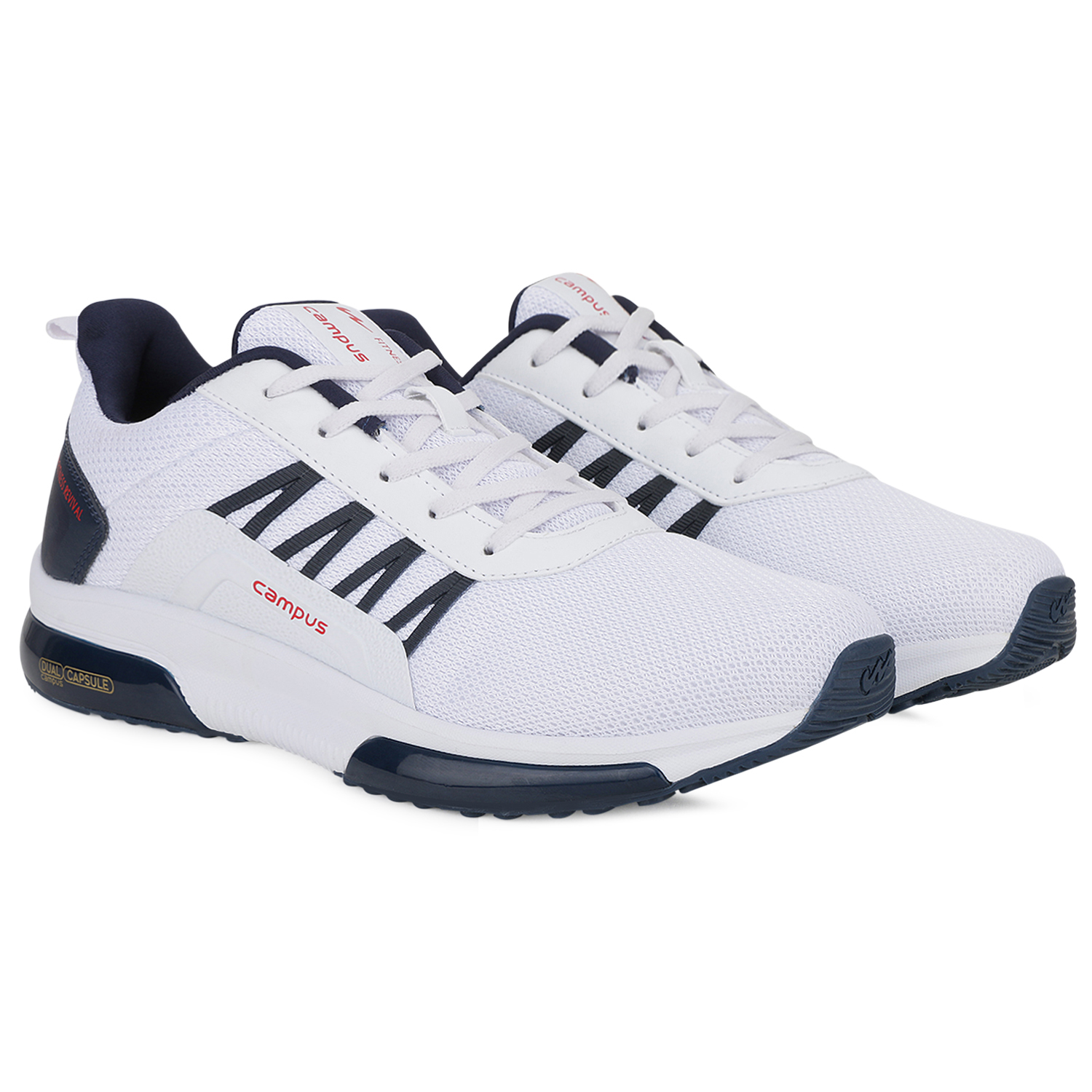 Campus Shoes | White Brazil Running Shoes