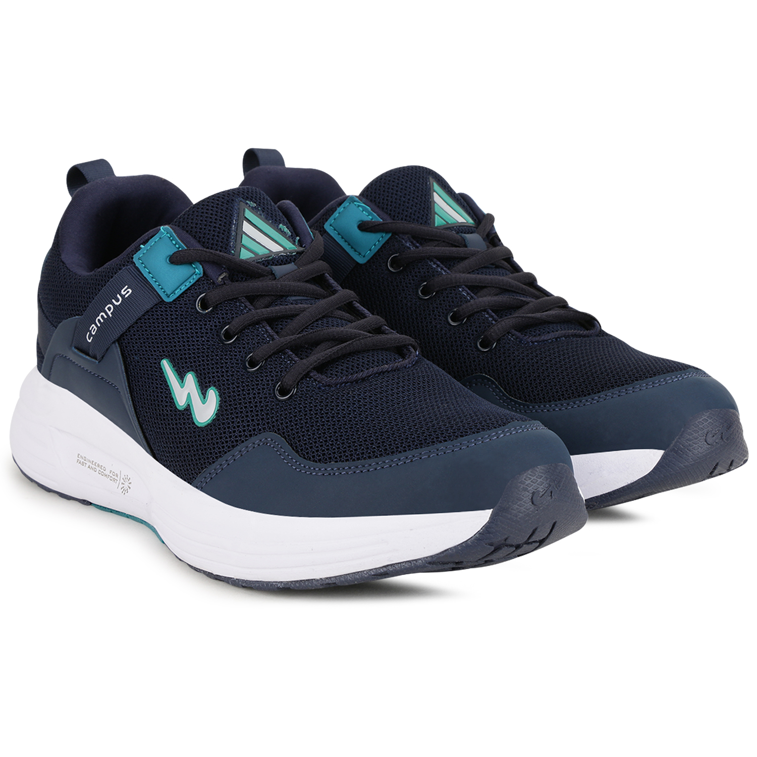 Campus Shoes   Blue Europa Running Shoes