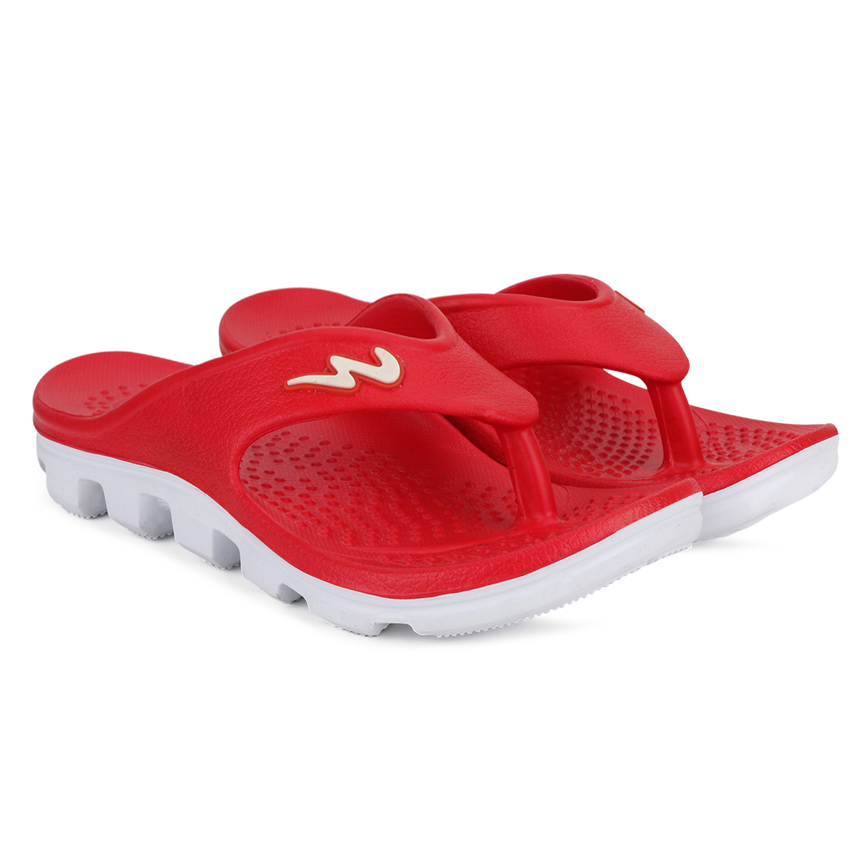 Campus Shoes | Red Flip Flops