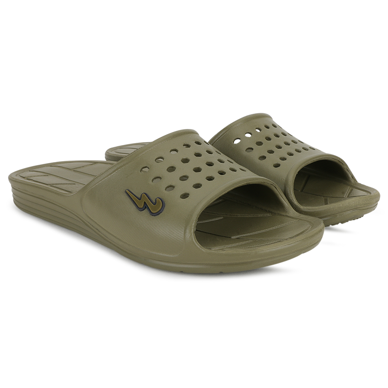 Campus Shoes | Green Flip Flops