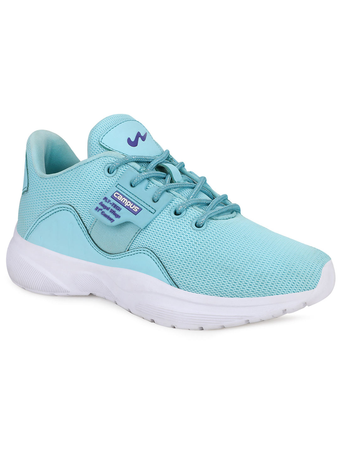 Campus Shoes | Green Claire Running Shoes
