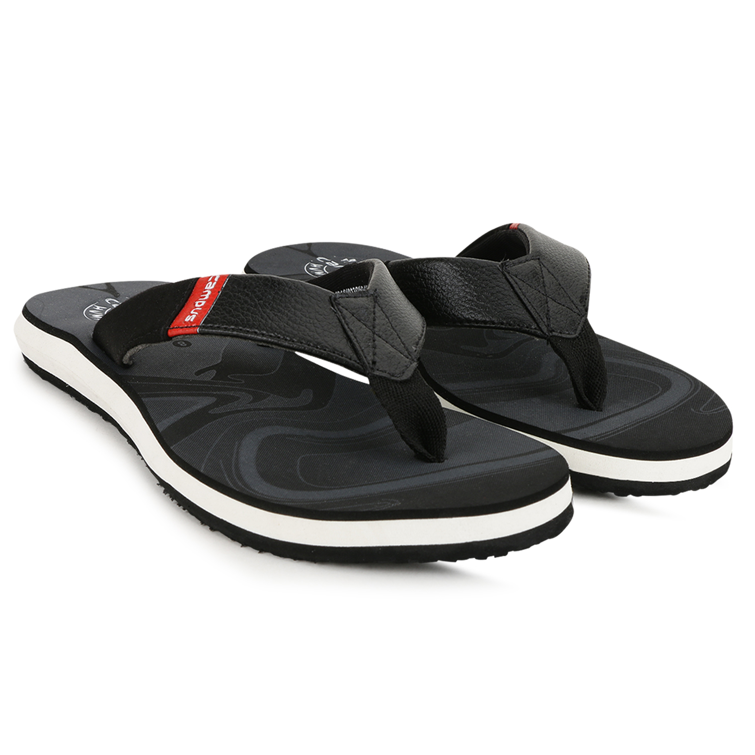 Campus Shoes | Black Slippers