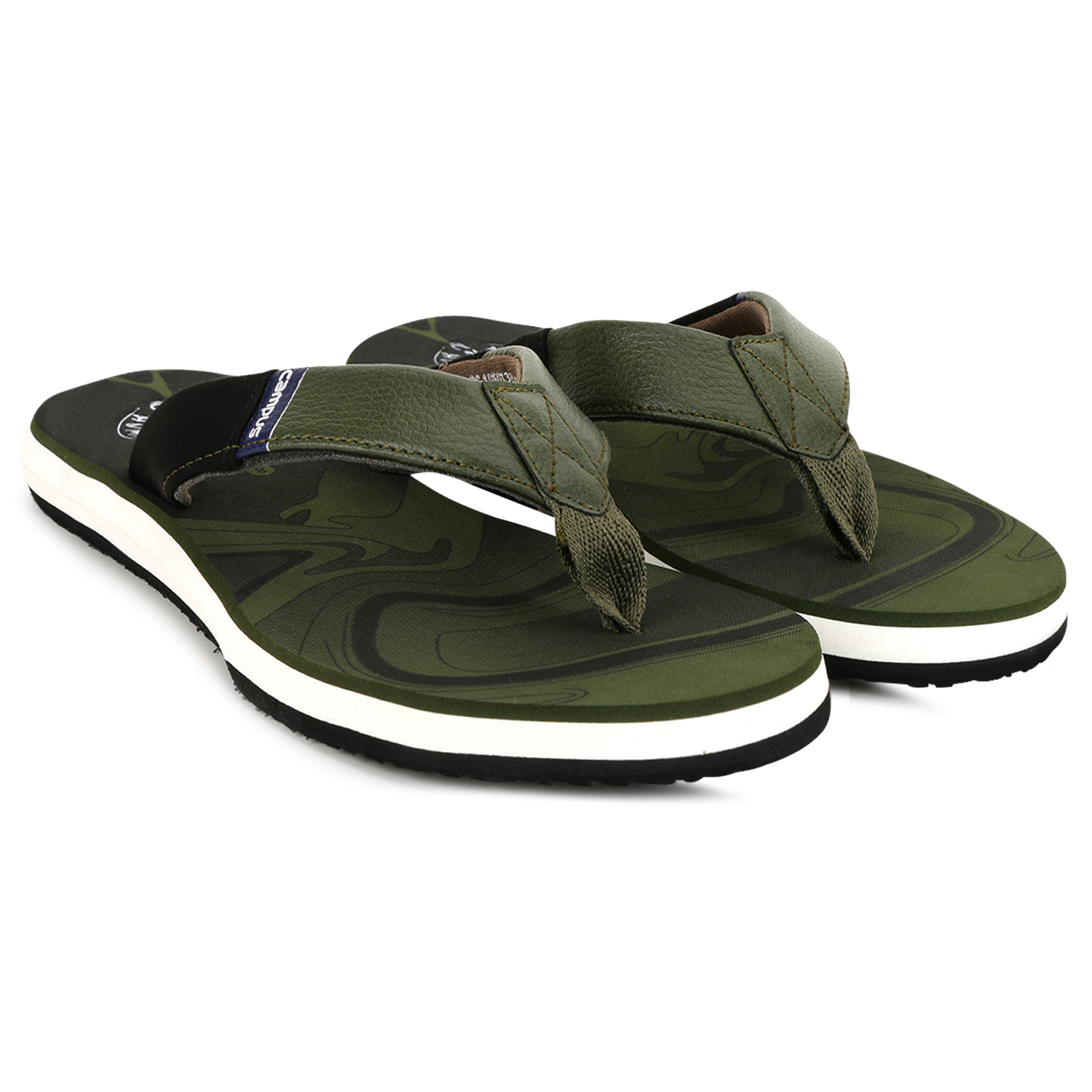 Campus Shoes | Green Slippers