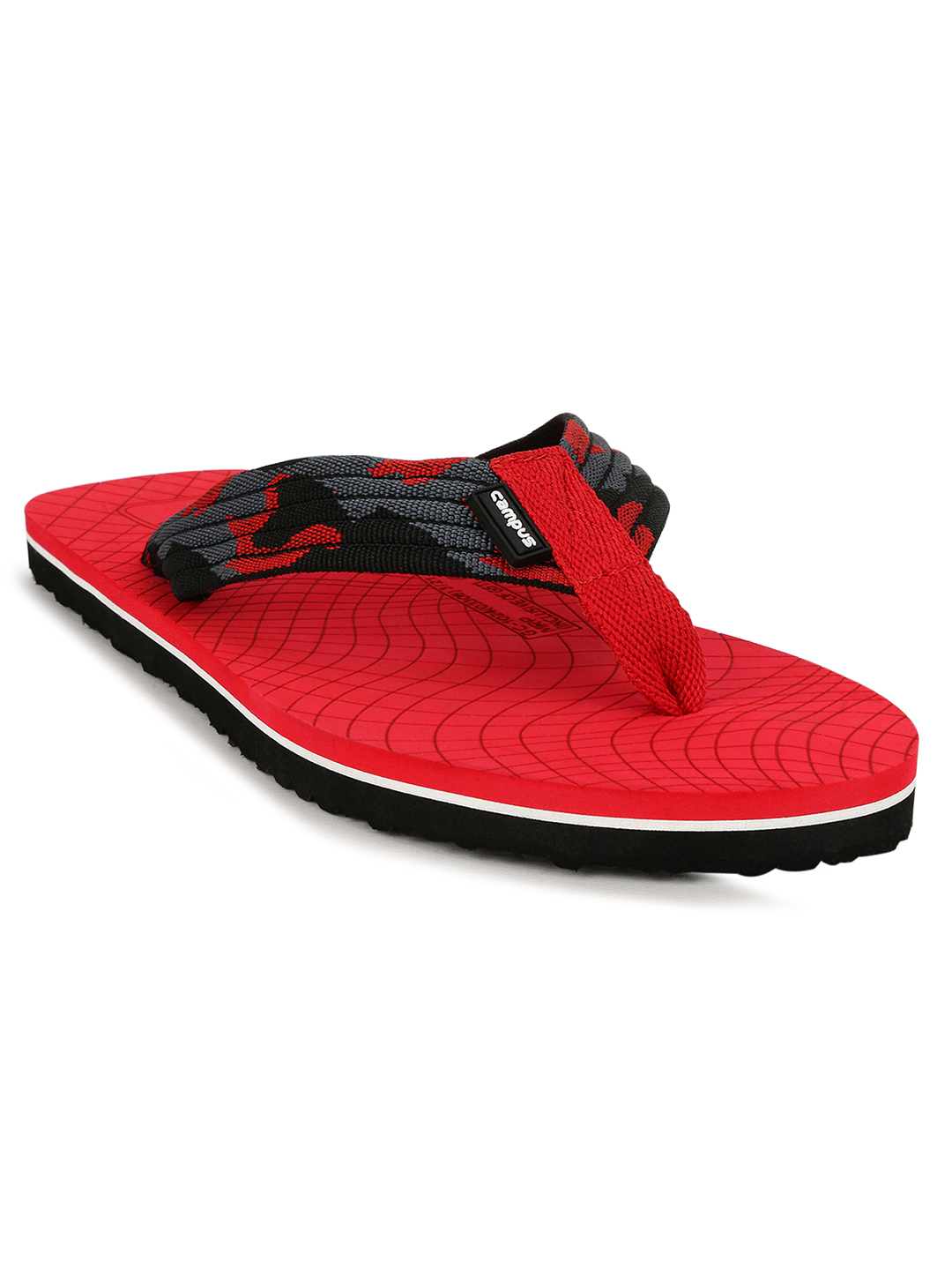 Campus Shoes | Red Slippers