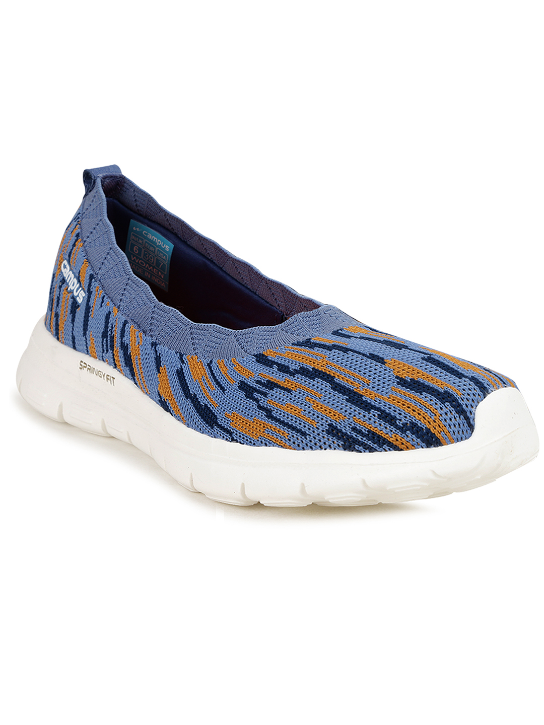 Campus Shoes   Blue Niomi Running Shoes