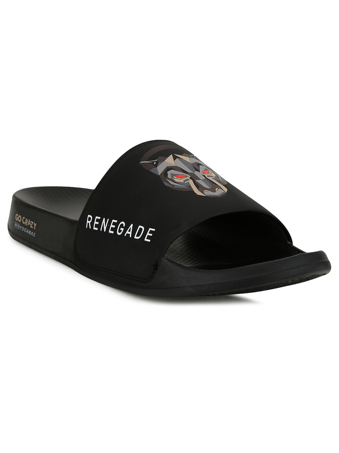 Campus Shoes | Black Renegade-Sl Slippers