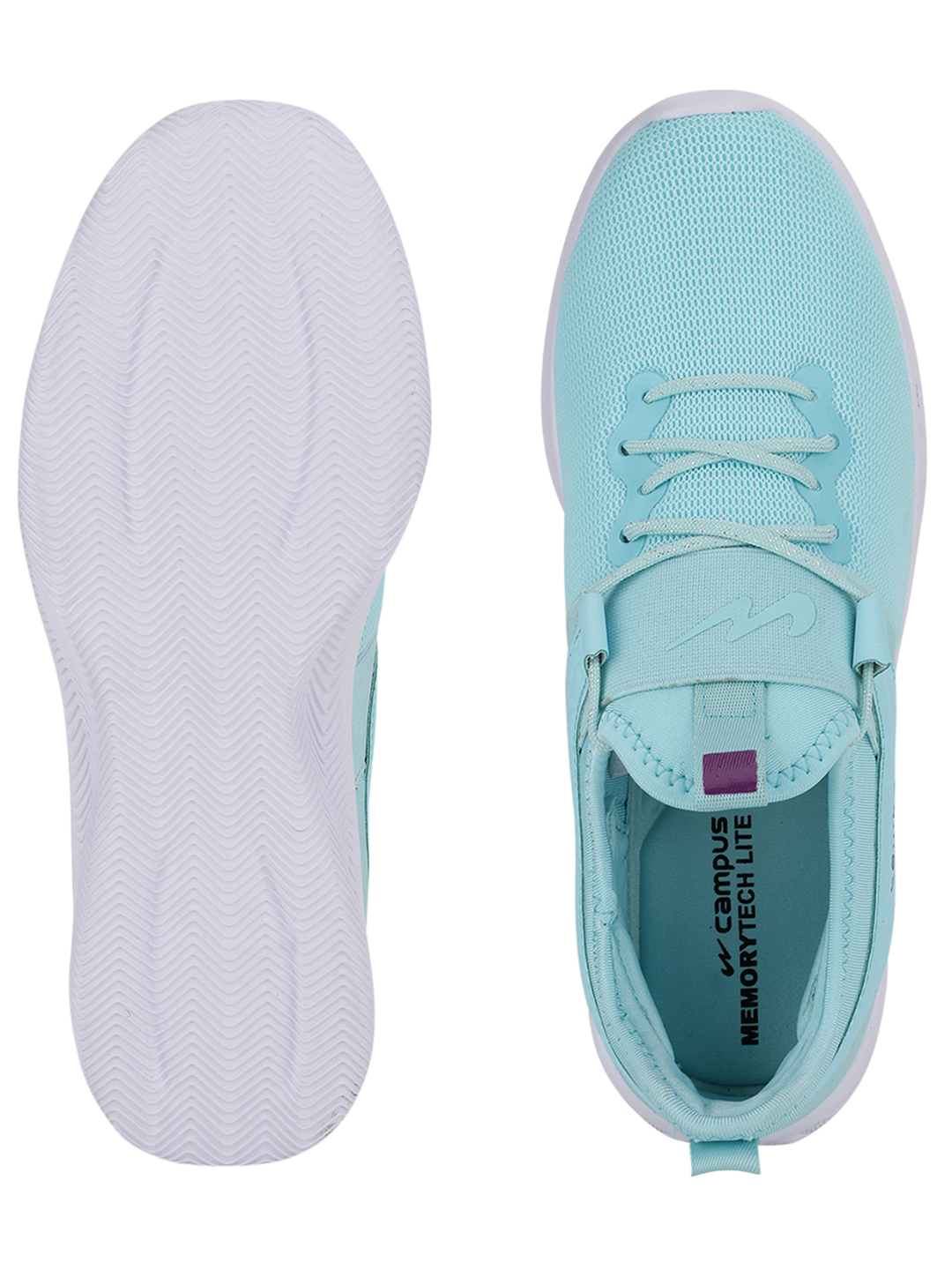 Campus Shoes | Green Sherry Running Shoes
