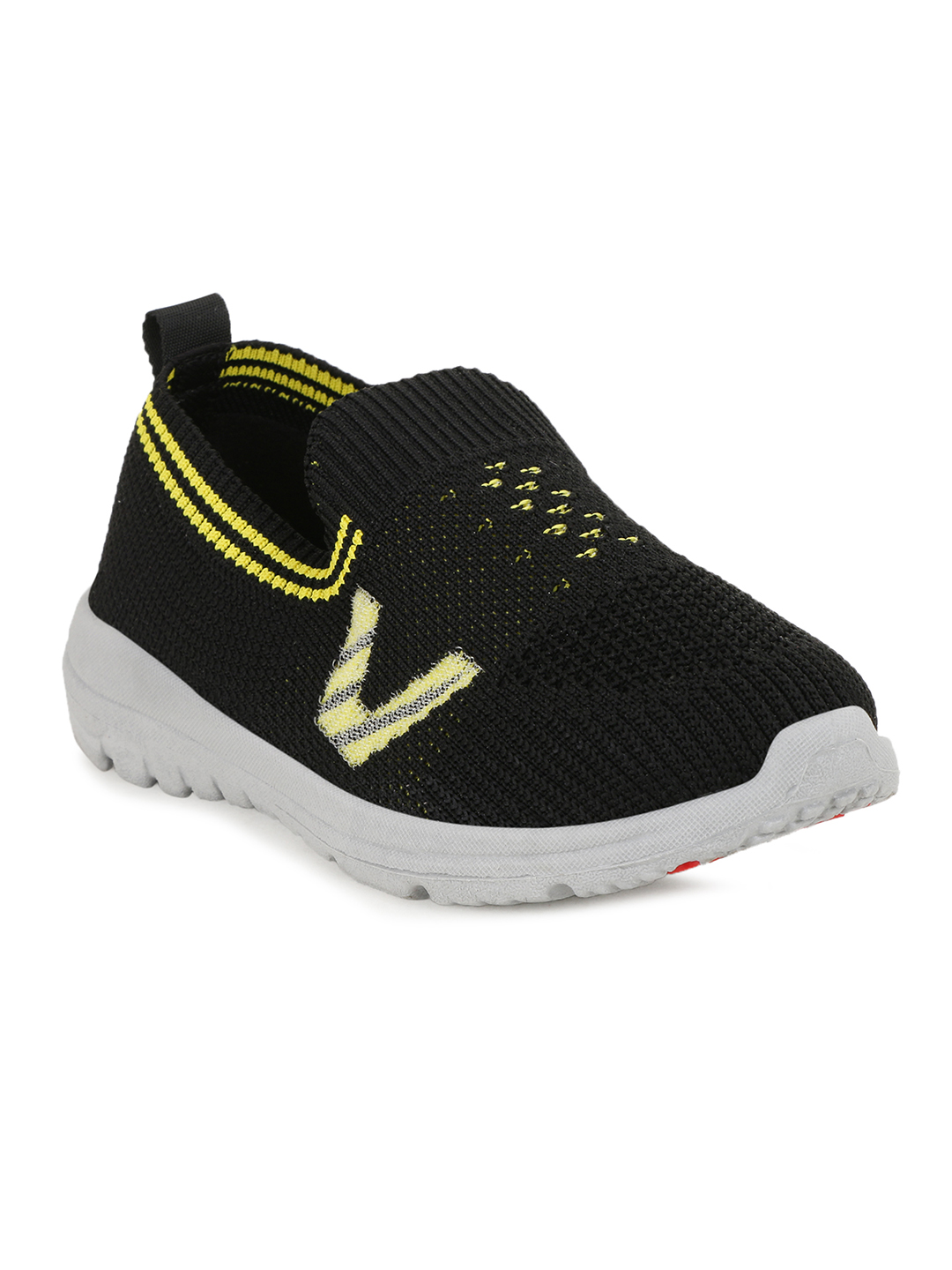 Campus Shoes   Black Running Shoes