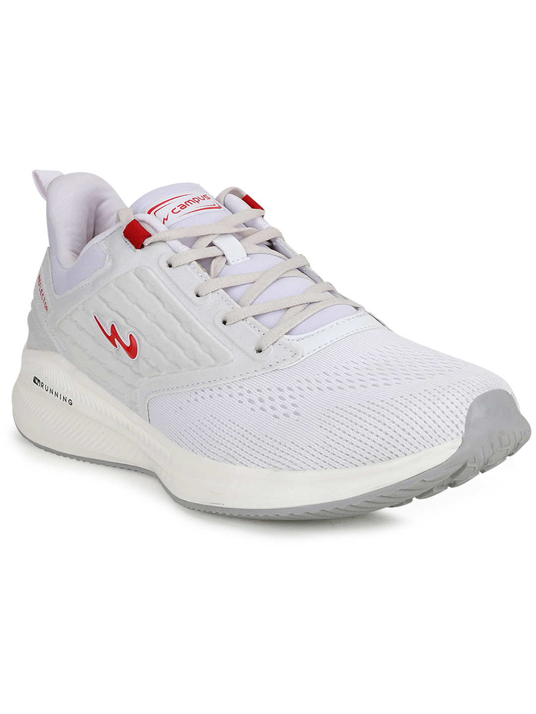 Campus Shoes | White Spice Running Shoes