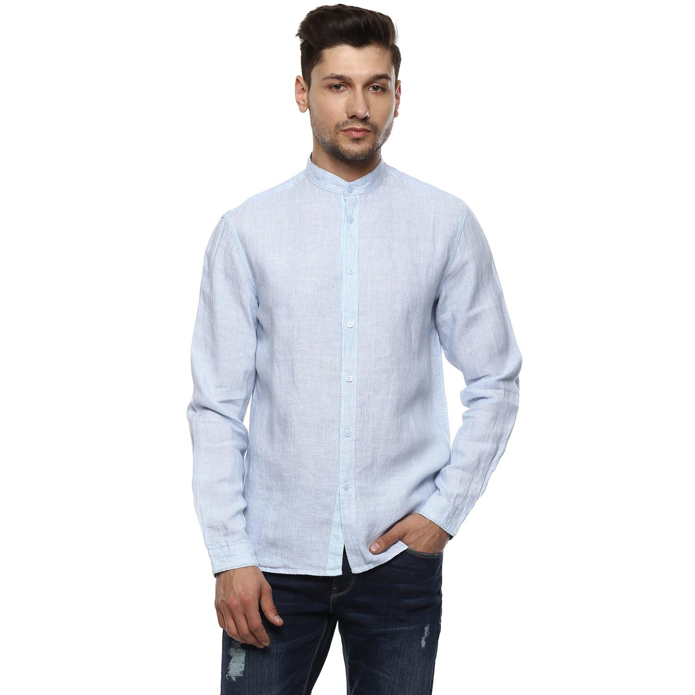 celio | 100% Linen Slim Fit Casual Shirts