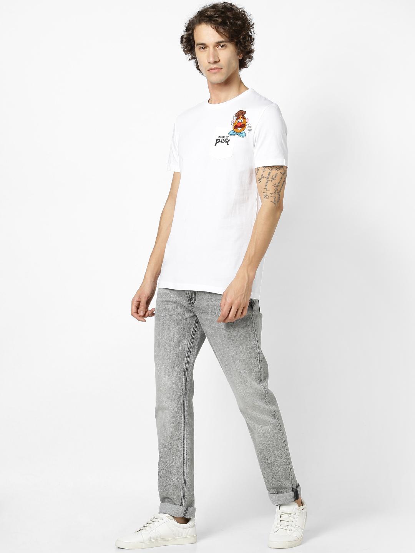 celio   celio Optical White T-Shirt