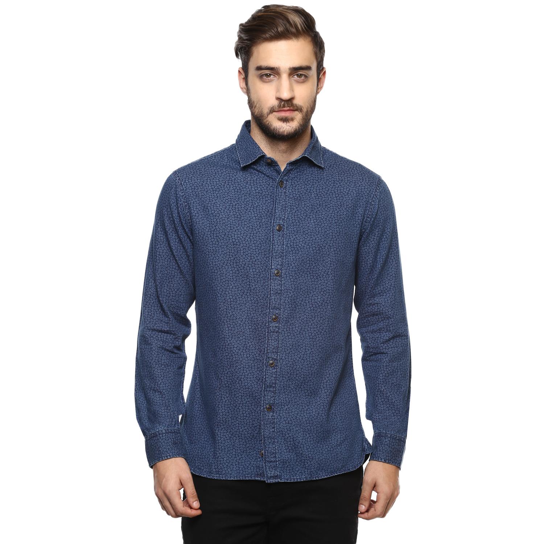 celio | Slim Fit  Denim Shirt Casual Shirts