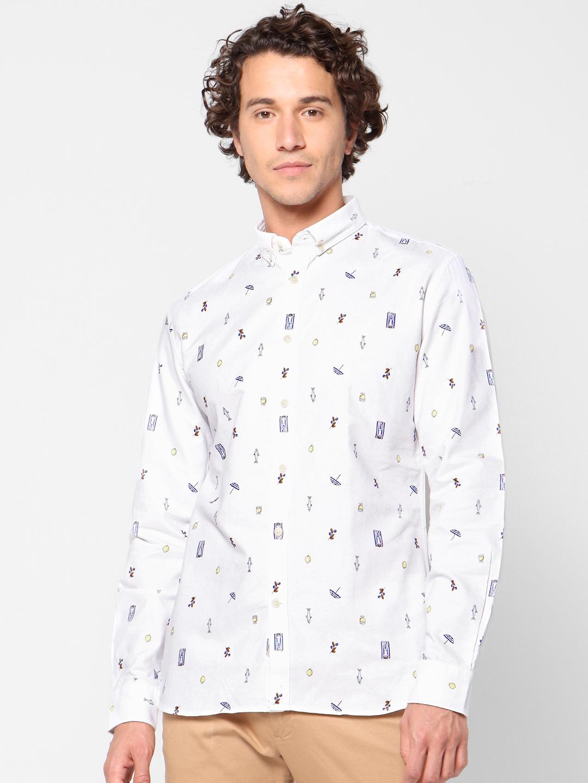 celio | Printed Slim Fit Causal Shirt