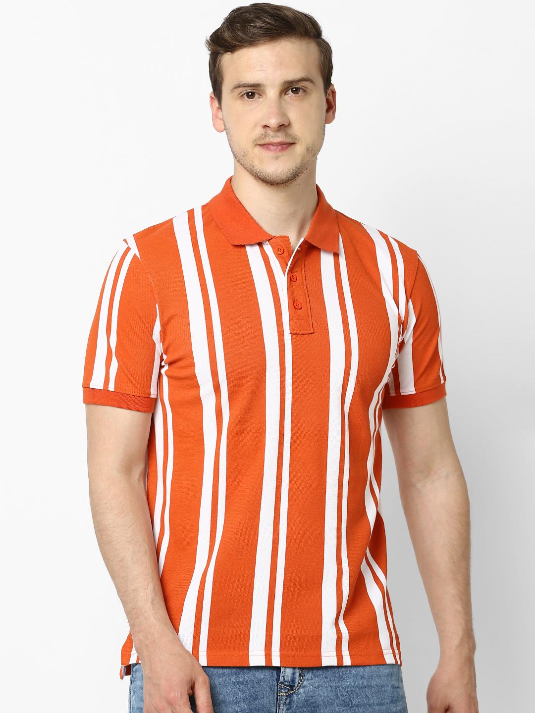 celio | 100% Cotton Regular Fit Polo T-shirt